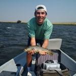 Fish in the boat