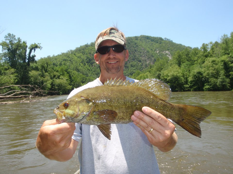South Holston River Float Trip with Asheville Anglers Guide Service