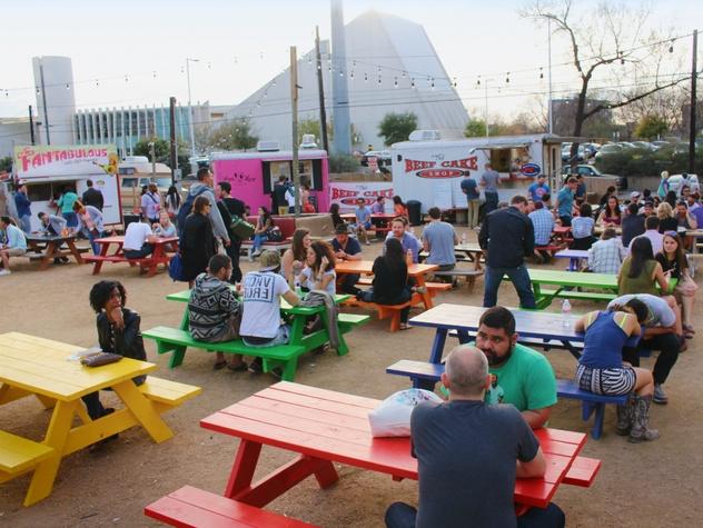 Food Truck Trailer Park Tour Austin Texas