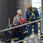 Providing confined space entry training