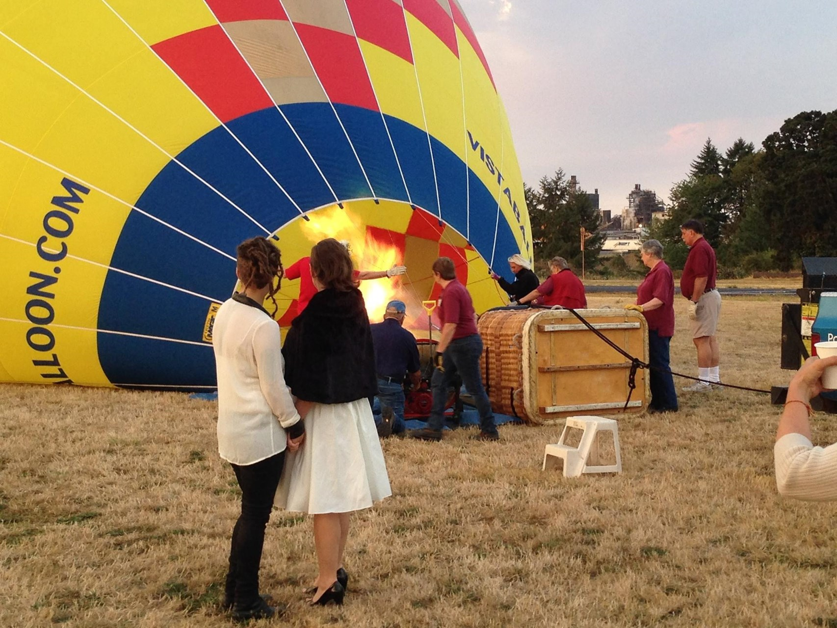 hot air balloon ride & wine tour of willamette valley - portland
