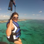 Just look at how happy our guests is when parasailing with us!