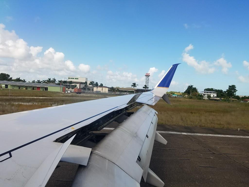 Belize Airport Landing
