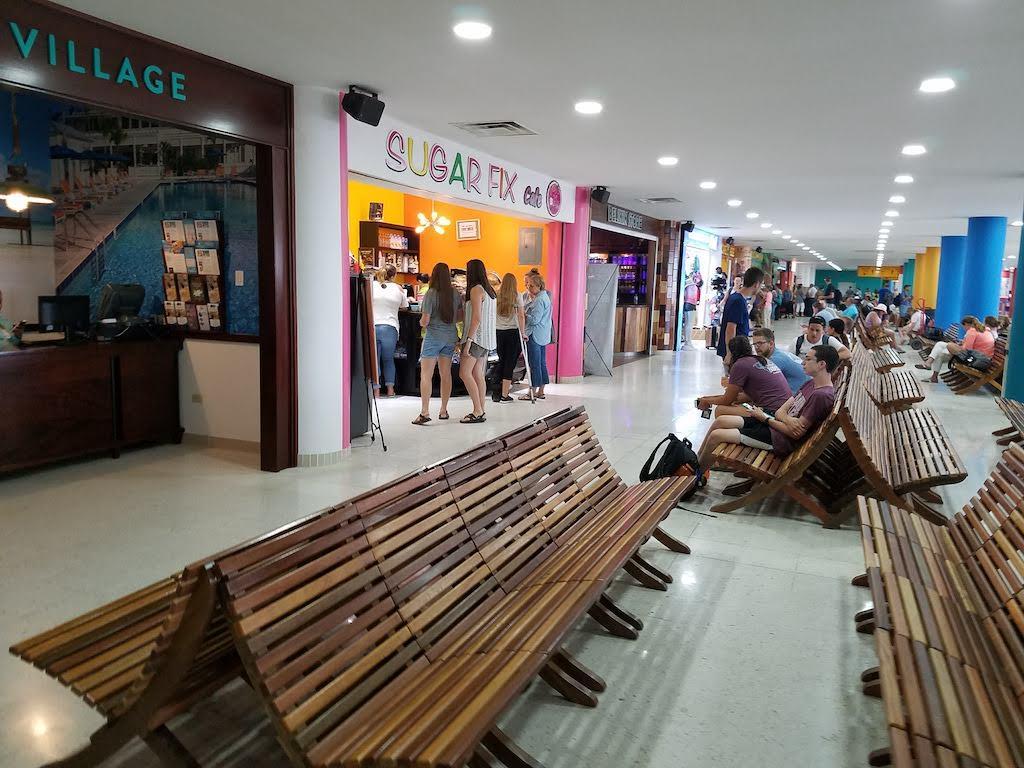 Belize Airport Departure Terminal