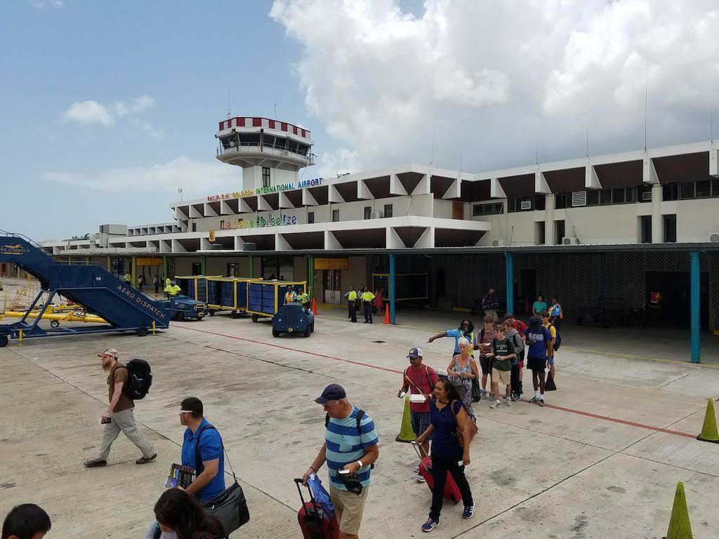 Belize Airport Departure