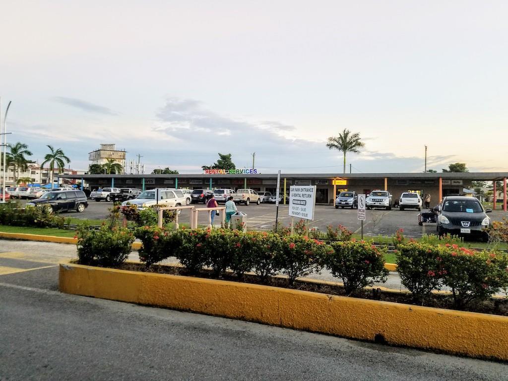 Belize Airport Parking Log