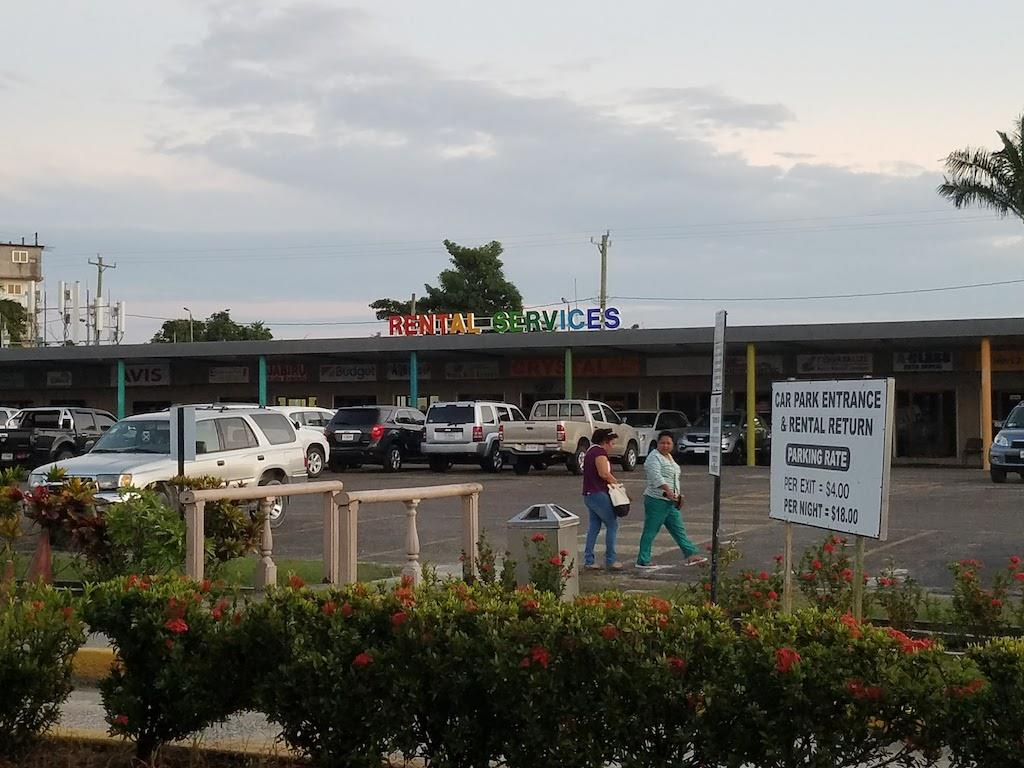 Belize Airport Car Rental Building