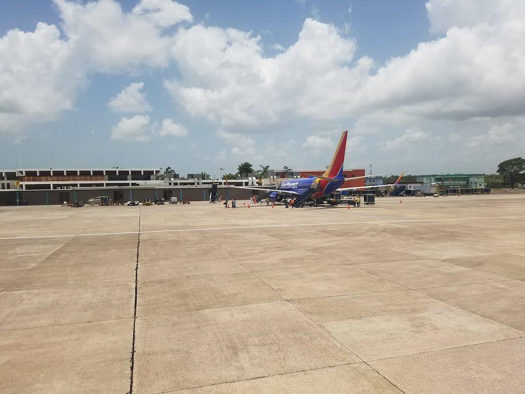 Belize Airport Arrival