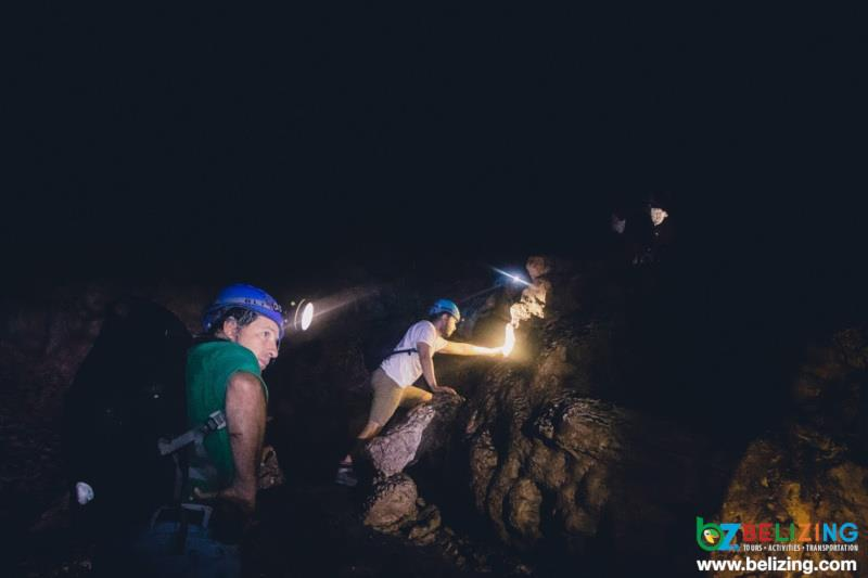Travel Belize for Summer - Caving at Actun Chapat