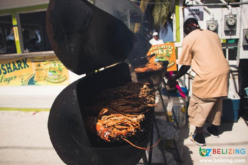 Travel Belize for Summer - Lobster Fest Caye Caulker